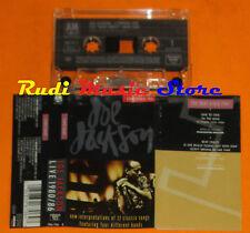 MC JOE JACKSON Live 1980/86 1988 west germany TAPE ONE A&M cd lp dvd vhs