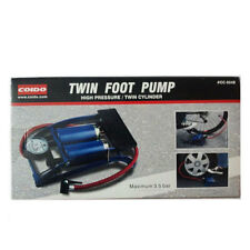100% Original Coido Foot Air Pump Compressor 8cm Twin Cylinder For Bike Car