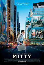 The Secret Life of Walter Mitty - A3 Film Poster - FREE UK DELIVERY