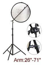 Photography Studio Light Reflector Disc holder + Stand