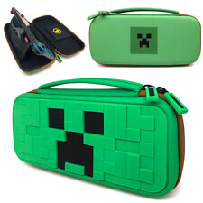 Nintendo Switch Hard Case Minecraft Travel Carry Cover Game Storage Protective