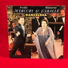 "FREDDIE MERCURY & MONTSERRAT CABALLE Barcelona 1987 German 7"" vinyl Single  K"