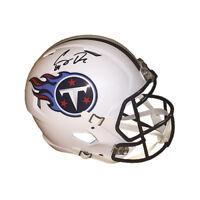 Corey Davis signed Tennessee Titans FS Speed Rep Helmet #84- JSA Witnessed Holo