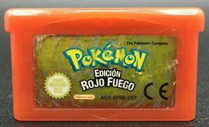 Pokémon : Edición Rojo Fuego // Nintendo Game Boy Advance // Cartucho - PAL ESP