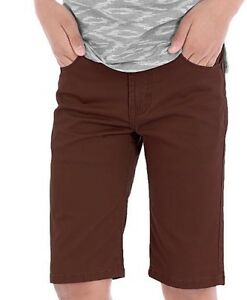Wrangler  Boys'  Premium Slim Straight Fit Shorts     Size 6 - 16 NWT u-pick