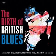 The Birth of British Blues Various Artists 0805520021982