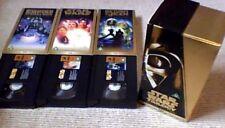 Star Wars Trilogy Special Edition Gold Box Set UK PAL VHS VIDEO 1997 3-Tape Set