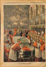 Papal conclave College of Cardinals VATICANO Cappella Sistina ITALIA 1903