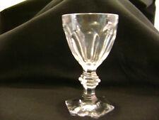 verre cristal BACCARAT HARCOURT  hauteur 11,5 cm