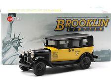 "Brooklin models BML 19 1930 GMC Model 6 taxi ""Yellow cab"" 1/43 White metal model"