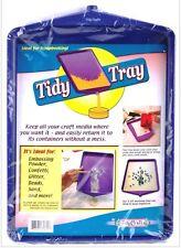Large Tidy Tray - Eliminates Glitter, Embossing Powder Waste