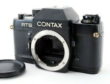 Exc+5 Contax RTS Black Body 35mm SLR Film Camera Only from Japan 616001