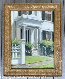 Levi Starbuck House, Nantucket oil painting by Ruth Haviland Sutton