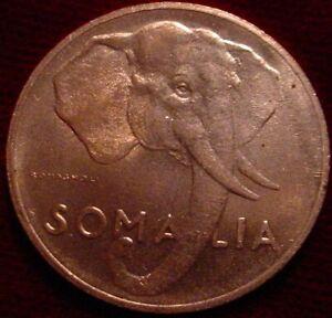 HI GRADE RED UNC 1950 5 CENTESIMI SOMALIA**SUPERB DETAILS