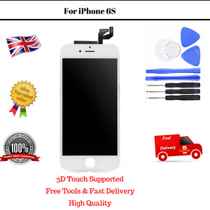 White Display 6S Screen Apple iPhone Glass Replacement LCD Digitizer OEM Frame