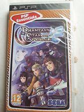 Phantasy Star Portable Sony PSP Español precintado