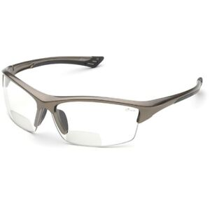 ELVEX SONOMA RX-350C BIFOCAL SAFETY GLASSES CLEAR ANTI-FOG LENS Z87+ (1.0-3.0)