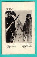 Death with a sword Kaiser of Germany Wilhelm PROPAGANDA VINTAGE POSTCARD 460