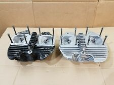 "Harley Shovelhead Cylinder Heads 74"" 11-73 Front  12-73 Rear Head Set FL FX FLH"