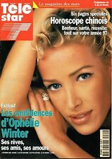 TELE STAR 1997: OPHELIE WINTER_VINCENT PEREZ_ARIELLE DOMBASLE_MICHELE LEE