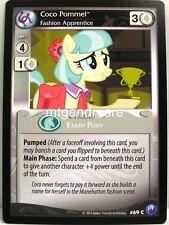 My Little Pony - 2x #069C Coco Pommel, Fashion Apprentice - Canterlot Nights