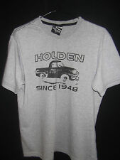 HOLDEN Mens Grey T-shirt size S