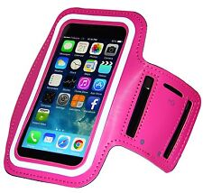 Outdoor Gym Sport Armband Skin Case Cover for iPhone 6/6s – Pink