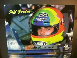 Jeff Gordon #24 Dupont Press Pass 1994 Card #124 1993 Rookie Of The Year
