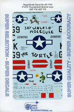 SuperScale Decals 1:48 P-47 D Thunderbolt Bubbletops 509th FS/405th FG #48-1146