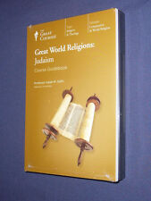 Teaching Co Great Courses Great World Religions CDs      JUDAISM   new