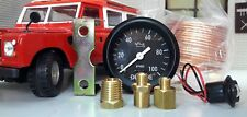 "Land Rover Series 1 2 2a 3 Dash Panel 2"" Oil Pressure Illuminated Gauge & Sender"