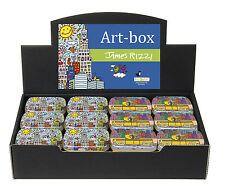 "James RIZZI: Minidöschen, Art Box, Dose, Motive ""NEW YORK CITY"" & ""TAXI"", neu"