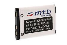 Batería Li-40b/Li-42b para Olympus FE-20, 150, 160, 190, 220, 230, 240, 250, 280