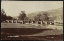 Crickhowell. Usk Bridge by T.J.Allen.