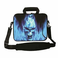 "17"" LAPTOP BAG WITH HANDLE & SHOULDER STRAP 4 ALL MAKES *FREE POST*BLUE FIRE*"