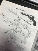 Exploded View Model P Frame Colt