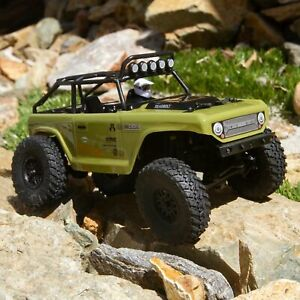 Axial SCX24 Deadbolt 1/24 Scale Crawler, RTR, Green