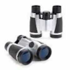 Tectron Binoculars with carrying pouch- lanyard- rubber eye cups and grips 4X30
