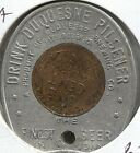1949 Duquesne Pilsner - Encased Cent - Good Luck - Pittsburg, PA - Lot # EC 3122