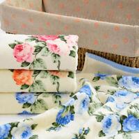 Soft Cotton Bath Towel Flower Printing Home Bathroom Beach Face Towel Shan