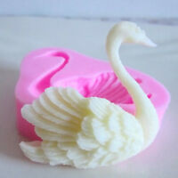 3D Swan Silicone Fondant Cake Mold Cookie Candy Soap Candy Decorating Mould