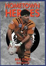 NRL 1994 DYNAMIC TRADING CARDS HOMETOWN HEROES' ~ BENNY ELIAS