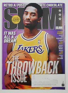 August 2015 Slam NBA Pro Basketball Magazine #190 Kobe Bryant Cover