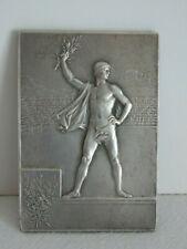 MEDAILLE DE TABLE JEUX OLYMPIQUES DE 1900 PAR VERNON.OLYMPIC 1900 GAME MEDAL