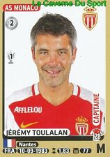 260 JEREMY TOULALAN # AS.MONACO.FC MALAGA.CF STICKER PANINI FOOT 2016
