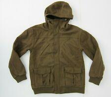 DC SHOES Olive Green Warm Wool Blend SNOWBOARD JACKET Winter Ski Coat Sz Men XXL