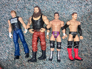 Mattel WWE Figure Basic Lot Of 4