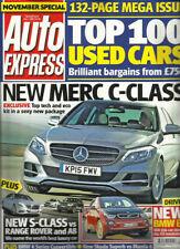 November Weekly Auto Express Magazines