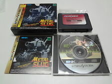 Metal Slug W/RAM Pack Sega Saturn Japan /C