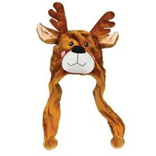 CUTE CHILD REINDEER HAT!!! winter antlers kids snow christmas holiday ear cover